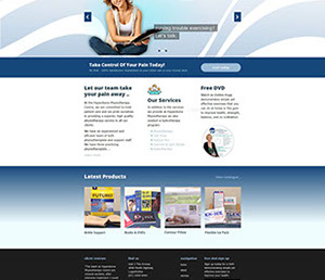 The Corporate ID Agency is currently designing an extensive 14 page website for Hyperdome Physiotherapists incorporating various services.
