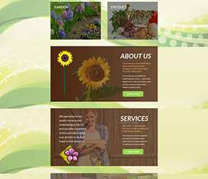 The Corporate ID Agency is currently designing a five page website for Thornlands Nursery to demonstrate their green finger abilities.